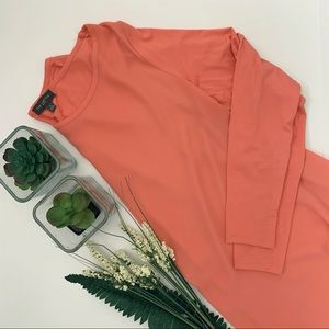 THE LIMITED | Women's Small Orange Shirt